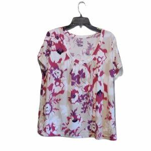Merona Short Sleeve Top Plus Size XXL